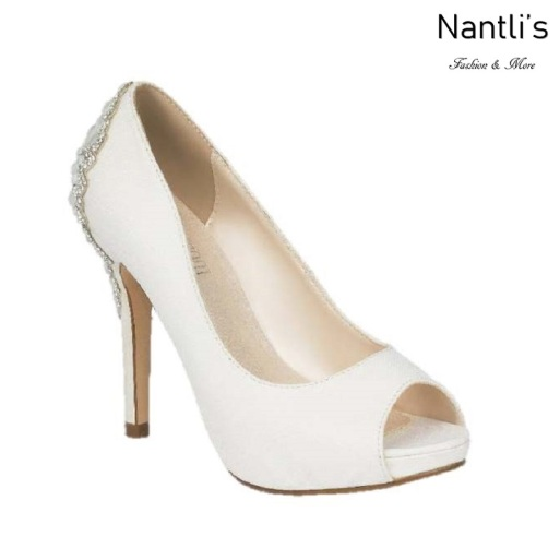 BL-Barbara-66B White Zapatos de novia Mayoreo Wholesale Women Heels Shoes Nantlis Bridal shoes