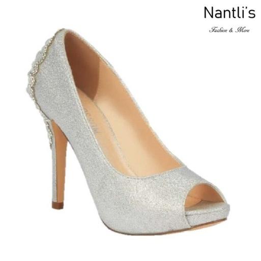 BL-Barbara-66X Silver Zapatos de novia Mayoreo Wholesale Women Heels Shoes Nantlis Bridal shoes