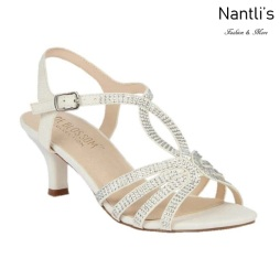 BL-Berk-206B White Zapatos de novia Mayoreo Wholesale Women Heels Shoes Nantlis Bridal shoes
