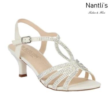 BL-Berk-206B White Zapatos de novia Mayoreo Wholesale Women Heels Shoes Nantlis Bridal shoes