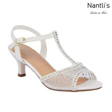 BL-Berk-72B White Zapatos de novia Mayoreo Wholesale Women Heels Shoes Nantlis Bridal shoes