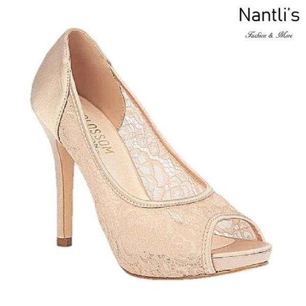 BL-Emma-5 Nude Zapatos de novia Mayoreo Wholesale Women
