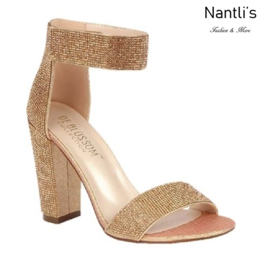 BL-Celina-16 Rose Gold Zapatos de novia Mayoreo Wholesale Women Heels Shoes Nantlis Bridal shoes