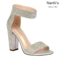 BL-Celina-16 Silver Zapatos de novia Mayoreo Wholesale Women Heels Shoes Nantlis Bridal shoes