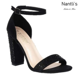 BL-Celina-17 Black Zapatos de novia Mayoreo Wholesale Women Heels Shoes Nantlis Bridal shoes