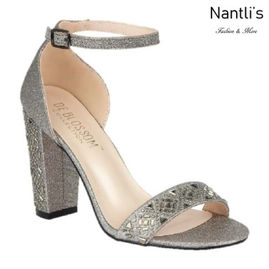 BL-Celina-17 Pewter Zapatos de novia Mayoreo Wholesale Women Heels Shoes Nantlis Bridal shoes