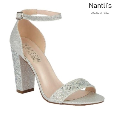 BL-Celina-17 Silver Zapatos de novia Mayoreo Wholesale Women Heels Shoes Nantlis Bridal shoes