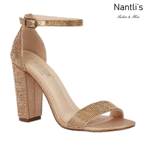 BL-Celina-19 Rose Gold Zapatos de novia Mayoreo Wholesale Women Heels Shoes Nantlis Bridal shoes