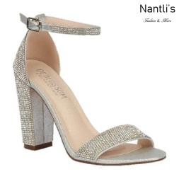 BL-Celina-19 Silver Zapatos de novia Mayoreo Wholesale Women Heels Shoes Nantlis Bridal shoes