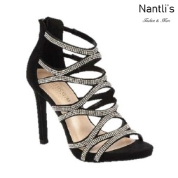 BL-Charlotte-11 Black Zapatos de novia Mayoreo Wholesale Women Heels Shoes Nantlis Bridal shoes