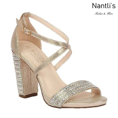 BL-Chelsea-22 Rose Gold Zapatos de novia Mayoreo Wholesale Women Heels Shoes Nantlis Bridal shoes