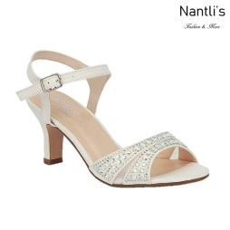 BL-Crystal-178B White Zapatos de novia Mayoreo Wholesale Women Heels Shoes Nantlis Bridal shoes