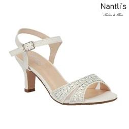 BL-Crystal-178B White Zapatos de novia Mayoreo Wholesale Women Heels Shoes Nantlis Bridal shoes