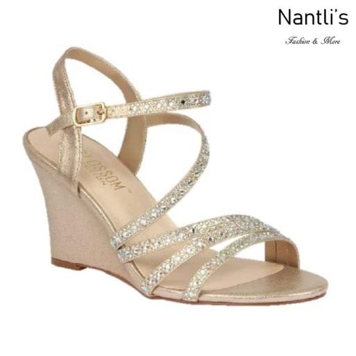 BL-Emma-5 Nude Zapatos de novia Mayoreo Wholesale Women Wedges Shoes Nantlis Bridal shoes