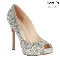 BL-Eternity-128 Silver Zapatos de novia Mayoreo Wholesale Women Heels Shoes Nantlis Bridal shoes