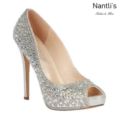 BL-Eternity-128 Silver Zapatos de novia Mayoreo Wholesale Women Heels Shoes Nantlis Bridal shoes