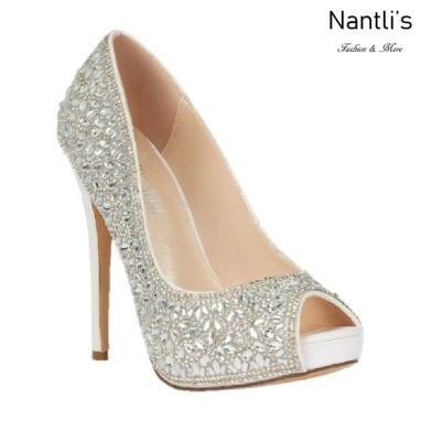 BL-Eternity-128B White Zapatos de novia Mayoreo Wholesale Women Heels Shoes Nantlis Bridal shoes