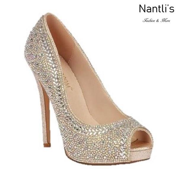 BL-Yael-9 Silver Zapatos de novia Mayoreo Wholesale Women