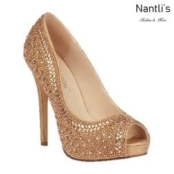 BL-Eternity-130 Rose Gold Zapatos de novia Mayoreo Wholesale Women Heels Shoes Nantlis Bridal shoes