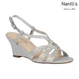 BL-Field-30 Silver Zapatos de novia Mayoreo Wholesale Women Wedges Shoes Nantlis Bridal shoes