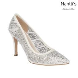 BL-Frances-5B White Zapatos de novia Mayoreo Wholesale Women Heels Shoes Nantlis Bridal shoes