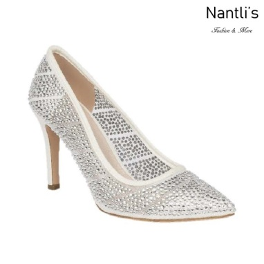 BL-Frances-5B White Zapatos de novia Mayoreo Wholesale Women Heels Shoes Nantlis Bridal shoes