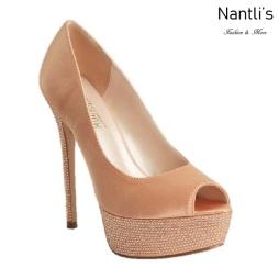 BL-Hailey-2 Rose Gold Zapatos de novia Mayoreo Wholesale Women Heels Shoes Nantlis Bridal shoes