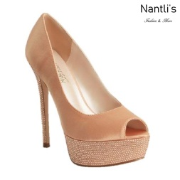 BL-Hailey-2 Rose Gold Zapatos de novia Mayoreo Wholesale Women Heels Shoes Nantlis Bridal shoes