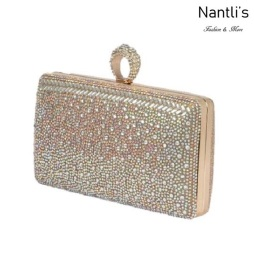 BL-HB-Eternity-130 Nude Cartera de novia Mayoreo Wholesale bridal Hand Bag Nantlis