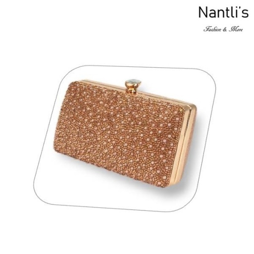 BL-HB-Reese-5 Rose Gold Cartera de novia Mayoreo Wholesale bridal Hand Bag Nantlis