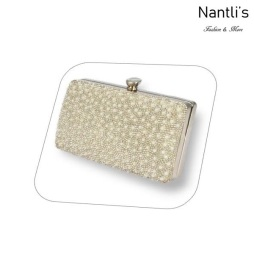 BL-HB-Reese-5 White Cartera de novia Mayoreo Wholesale bridal Hand Bag Nantlis