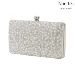 BL-HB-Renzo-73 White Cartera de novia Mayoreo Wholesale bridal Hand Bag Nantlis