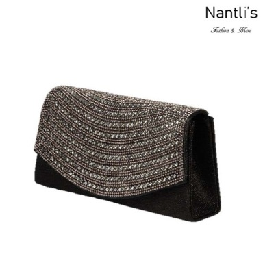 BL-HB152 Black Cartera de novia Mayoreo Wholesale bridal Hand Bag Nantlis