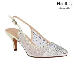 BL-Hurley-20B White Zapatos de novia Mayoreo Wholesale Women Heels Shoes Nantlis Bridal shoes