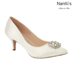 BL-Hurley-8 Ivory Zapatos de novia Mayoreo Wholesale Women Heels Shoes Nantlis Bridal shoes