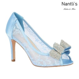 BL-Jolie-14 Blue Zapatos de novia Mayoreo Wholesale Women Heels Shoes Nantlis Bridal shoes
