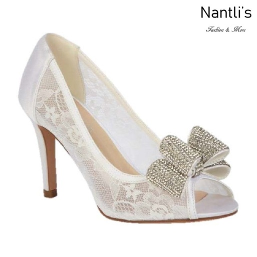 BL-Jolie-14 Off White Zapatos de novia Mayoreo Wholesale Women Heels Shoes Nantlis Bridal shoes