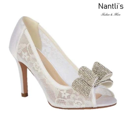BL-Jolie-14 Off White Zapatos de novia Mayoreo Wholesale Women Heels Shoes Nantlis Bridal shoes