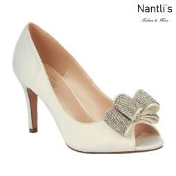 BL-Jolie-4 Ivory Zapatos de novia Mayoreo Wholesale Women Heels Shoes Nantlis Bridal shoes