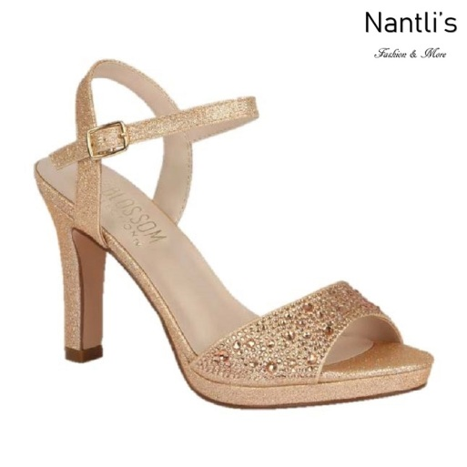 BL-Jonny-13 Rose Gold Zapatos de novia Mayoreo Wholesale Women Heels Shoes Nantlis Bridal shoes