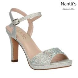 BL-Jonny-13 Silver Zapatos de novia Mayoreo Wholesale Women Heels Shoes Nantlis Bridal shoes