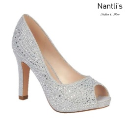BL-Jonny-14 Silver Zapatos de novia Mayoreo Wholesale Women Heels Shoes Nantlis Bridal shoes