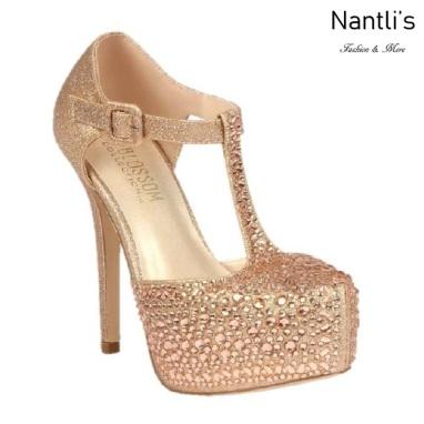 BL-Kinko-201 Rose Gold Zapatos de novia Mayoreo Wholesale Women Heels Shoes Nantlis Bridal shoes