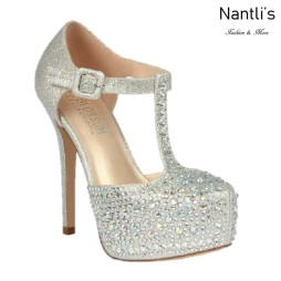 BL-Kinko-201 Silver Zapatos de novia Mayoreo Wholesale Women Heels Shoes Nantlis Bridal shoes