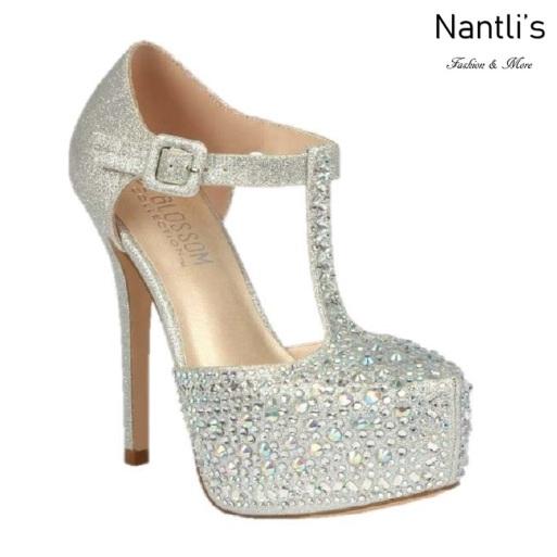 BL-Kinko-201 Silver Zapatos de novia Mayoreo Wholesale Women Heels Shoes Nantlis Bridal shoes
