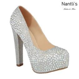BL-Kinko-202c Silver Zapatos de novia Mayoreo Wholesale Women Heels Shoes Nantlis Bridal shoes