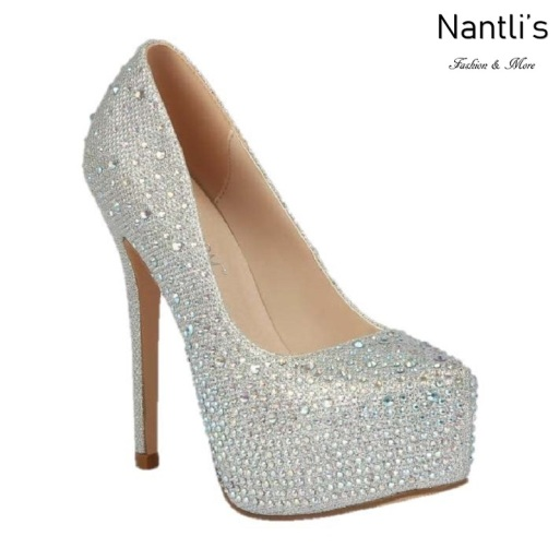 BL-Kinko-4 Silver Zapatos de novia Mayoreo Wholesale Women Heels Shoes Nantlis Bridal shoes
