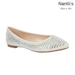 BL-Kitty-6B White Zapatos de Novia Mayoreo Wholesale Women flats Shoes Nantlis Bridal shoes
