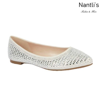 BL-Kitty-6B White Zapatos de Novia Mayoreo Wholesale Women flats Shoes Nantlis Bridal shoes