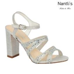 BL-Lilia-5 Silver Zapatos de novia Mayoreo Wholesale Women Heels Shoes Nantlis Bridal shoes